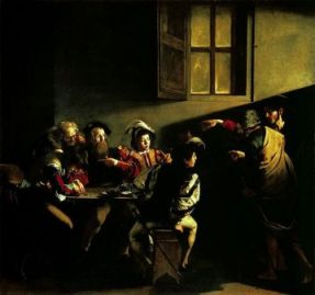 Caravaggio's use of  light and shadow